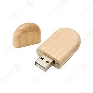 USB Wood Oval FDWD02