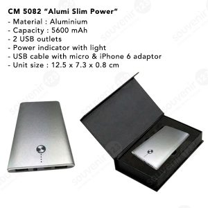 Powerbank Alumni Slim 5600mAh CM5082