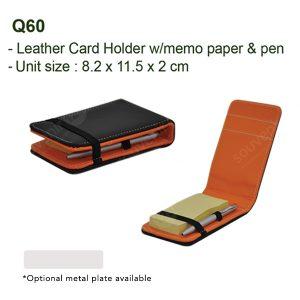 Namecard Memo Pen Q60