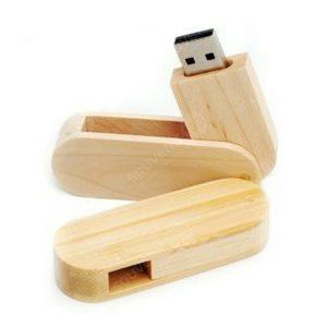 USB Wood Oval Geser