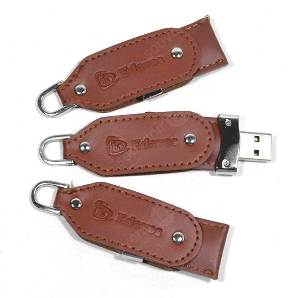 USB Leather Swivel FDLT23 (tersedia USB 2.0 dan USB 3.0)