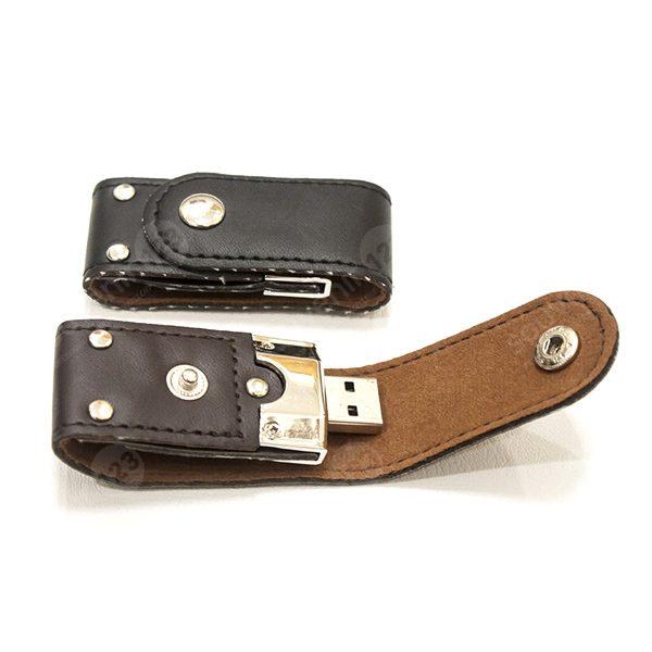 USB Leather Clip FDLT24