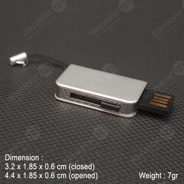 USB Slim Book Case FDSL24