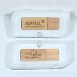 USB Wood Rectangle FDWD01