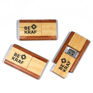 USB Wood Dual-Tone Color FDWD20