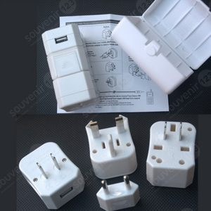 Universal Travel Adaptor USB Charger UAR01U