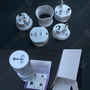 Universal Travel Adaptor Bulat USB Charger UAR02U