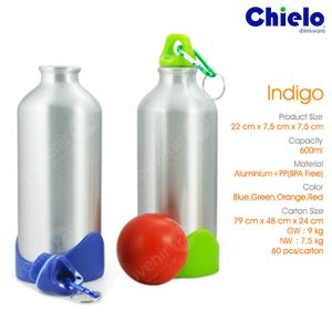 Indigo Alumunium Bottle