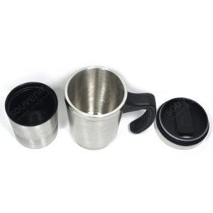 Mug Stainless 2 in 1