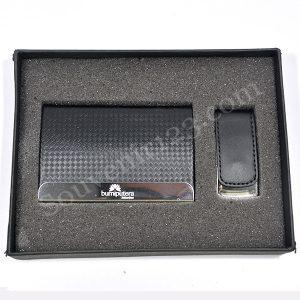 Gift Set Tempat Kartu Nama + USB (Custom)