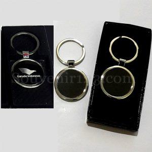 Gantungan Kunci Stainless Bulat GLS03