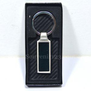 Gantungan Kunci Stainless Persegi Panjang GKL10