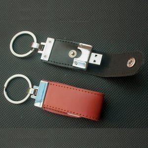 USB Kulit Gantungan Kunci FDLT27