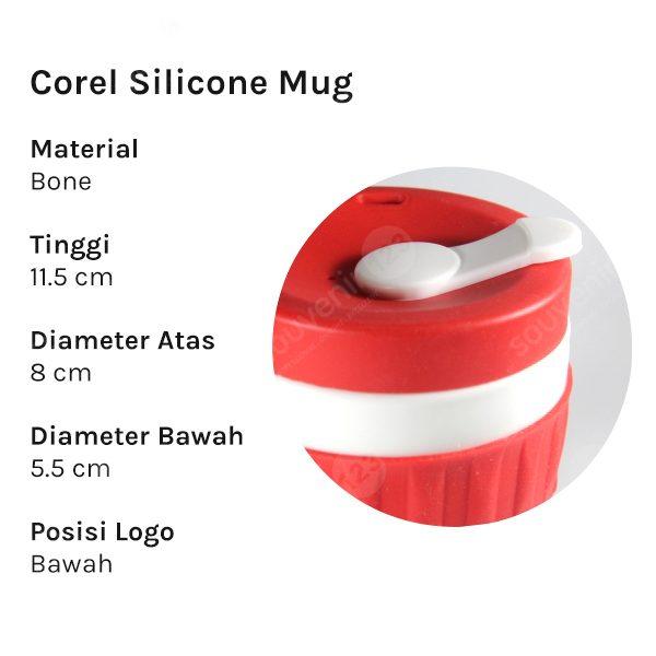 Mug Corel Silicone