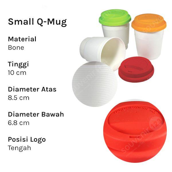 Mug Small Q (Small Rainbow)