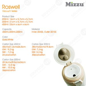 Roswell Vacuum Flask 300ml