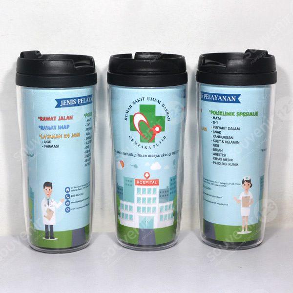 Tumbler Insert Paper Starbucks Hitam CO-320