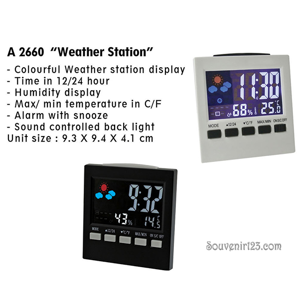 Jam Weather Station A2660