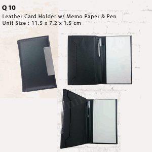 Namecard Memo Pen Q10