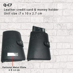 Tempat Kartu Kredit Kulit QC7