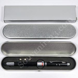 Pulpen Laser 5 in 1 Kotak Kaleng