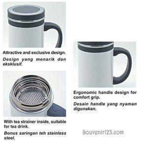 Shuma S/S Vacuum Mug 500ml SHBG0500