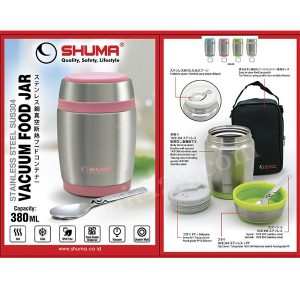 Shuma S/S Vacuum Food Jar 380ml SHFJ0380
