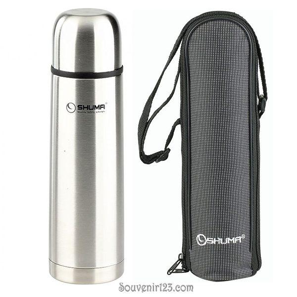 Shuma S/S Vacuum Flask 1.0L Plain SHP1000