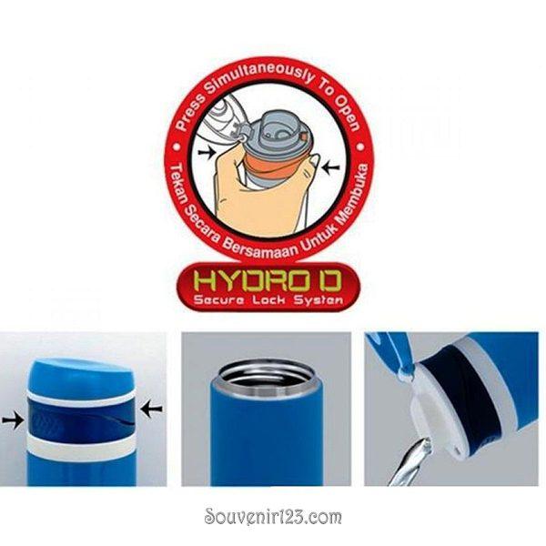 Shuma S/S Vacuum Sport Bottle Hydro D 400ml SSP400HDD