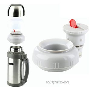 Shuma S/S Vacuum Wide Mouth Flask 1.2L SWMV1200