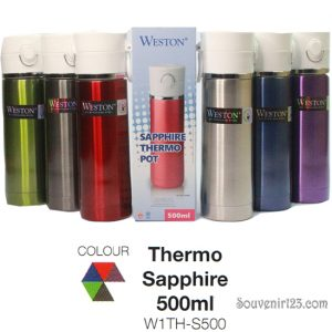Weston Saphire Thermo Pot 500ml W1TH-S500