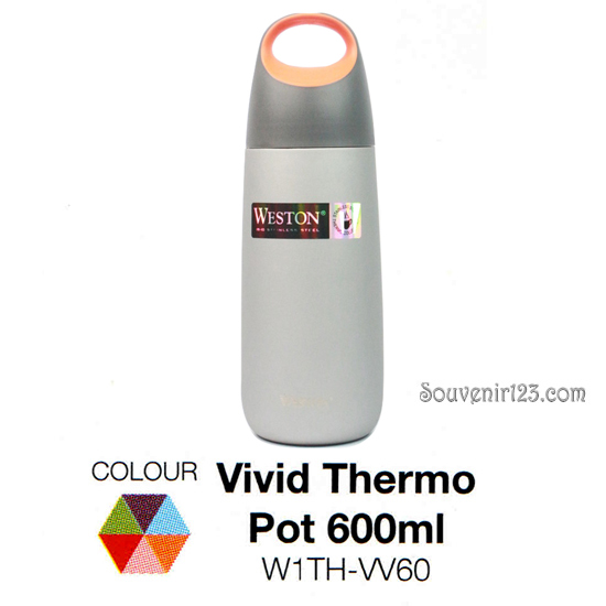 Weston Vivid Thermo Pot 600ml W1TH-VV60