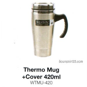 Weston Thermo Mug + Cover 520ml WTMU-420