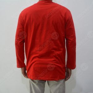 T-Shirt Lengan Panjang Model Kancing