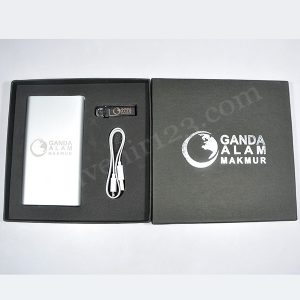 Gift Set Power Bank + USB (Custom)