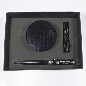 Gift Set Speaker + Pulpen (Custom)