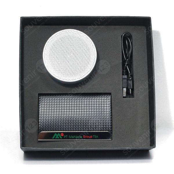 Gift Set Speaker + Tempat Kartu Nama (Custom)
