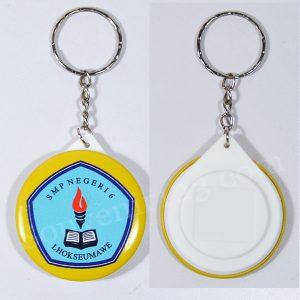 Gantungan Kunci Pin Belakang Polos 4.4cm