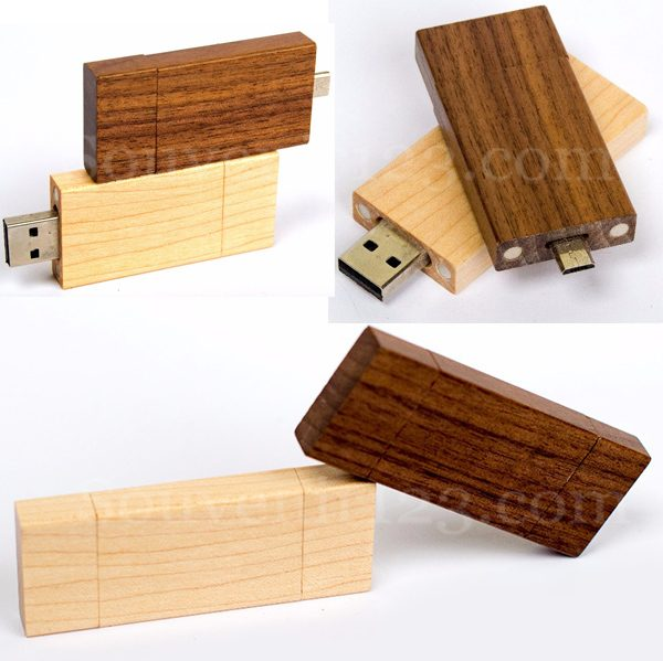 USB OTG Wood OTGWD01