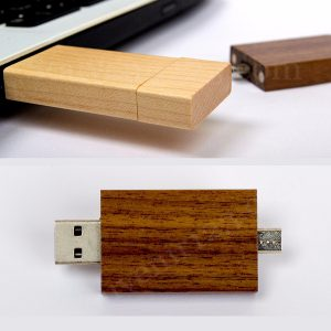 USB OTG Wood OTGWD01
