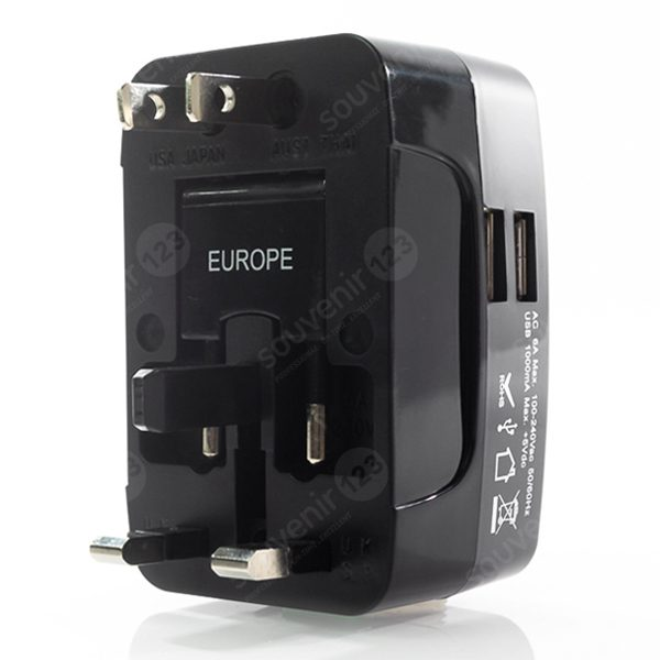 Dual Port USB Travel Adapter UAR07