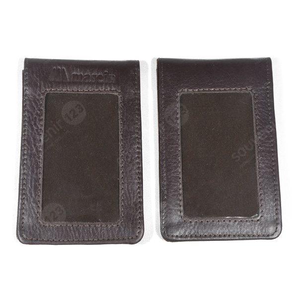 ID Card Holder Kulit Magnet