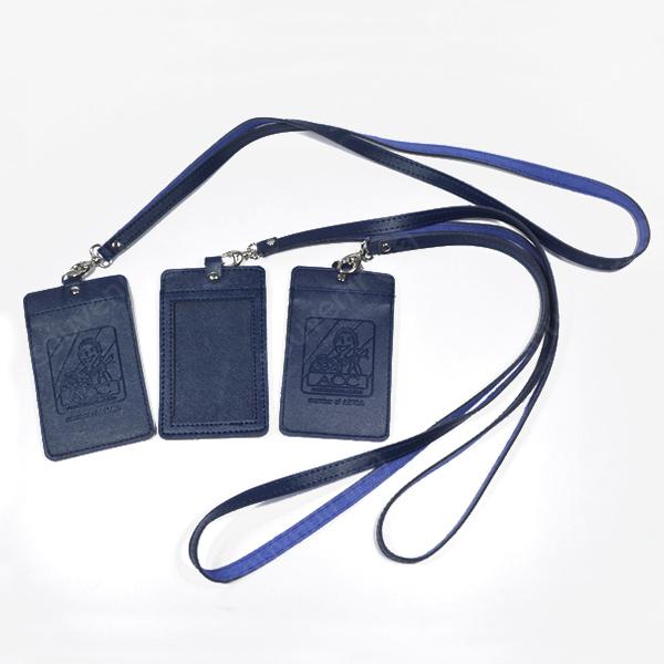 ID Card Holder Kulit Sintesis