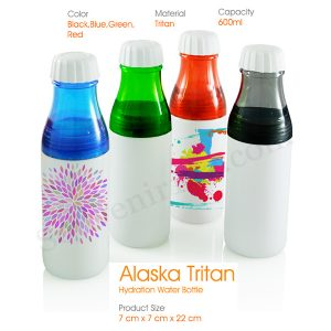Alaska Tritan Hydration Water Bottle