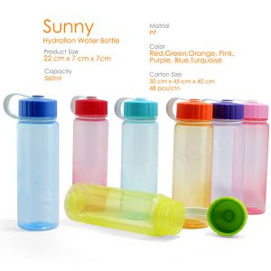 Sunny Hydration Water Bottle