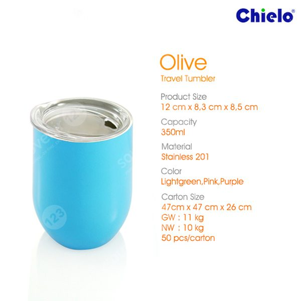 Olive Travel Tumbler