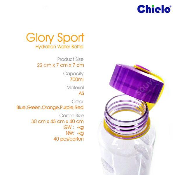 Glory Sport Hydration Water Bottle