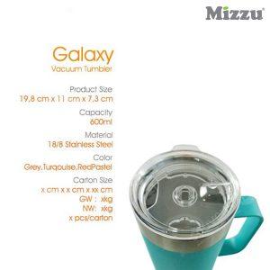 Galaxy Vacuum Tumbler