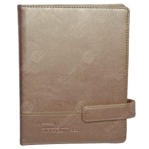 Agenda Kulit Custom Rose Gold
