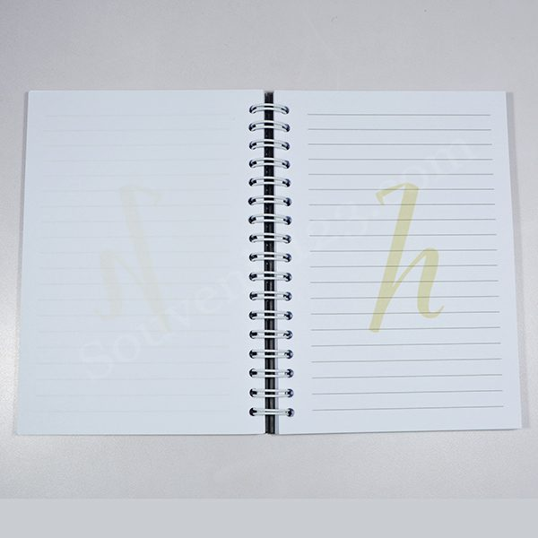Notes Spiral Hard Cover A6 Custom